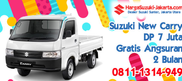 Promo Kredit Suzuki New Carry Pick UP, Dp 14 Juta, Gratis Angsuran 2 Bulan