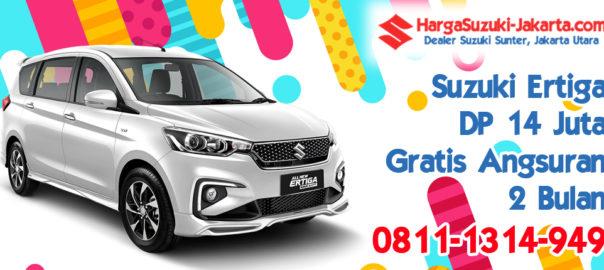 Promo Kredit Suzuki Ertiga, DP 14 Juta, Gratis Angsuran 2 Bulan