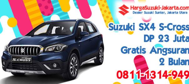 Promo Kredit Suzuki SX4 S-Cross, Dp 14 Juta, Gratis Angsuran 2 Bulan
