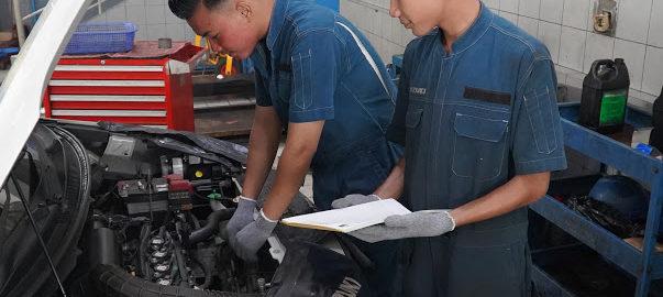 Di Tengah Pandemi COVID 19, Permintaan Home Service Suzuki Meningkat