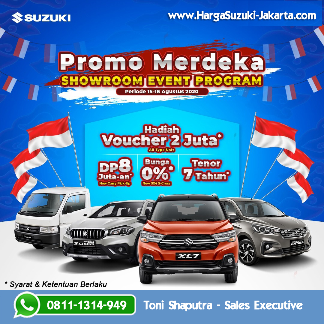 Showroom Event Promo Suzuki Merdeka