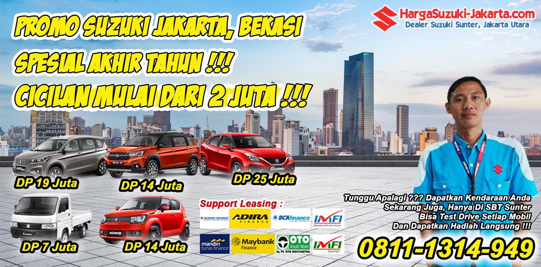 Promo Suzuki Jakarta, Bekasi Spesial Akhir Tahun, Cicilan Mulai Dari 2 Jutaan